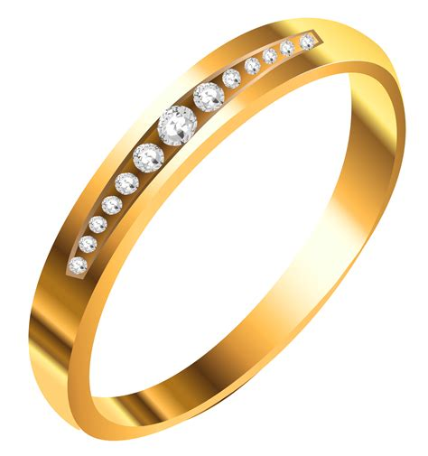 Gold ring clipart - Clipground