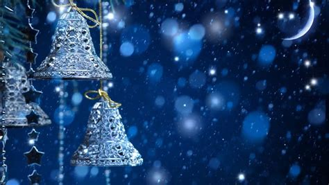 Xmas Bells Video Backgrounds for Stock Footage Video (100%